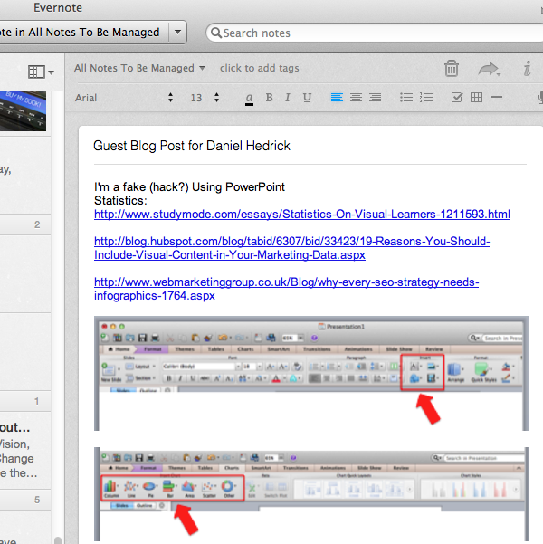 Evernote Guest Blog