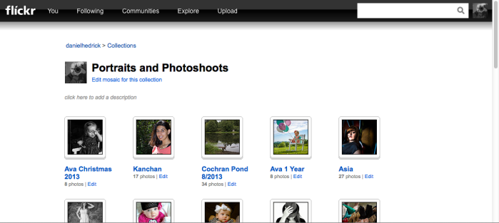 Flickr is still a great option for displaying and sharing photos