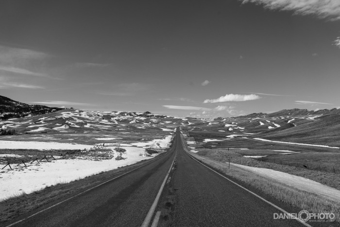 Highway 434 in Central Montana
